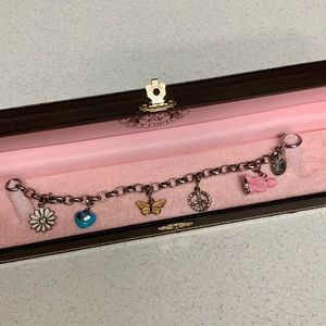 JUICY COUTURE REMOVABLE CHARMS BRACELET NWOT